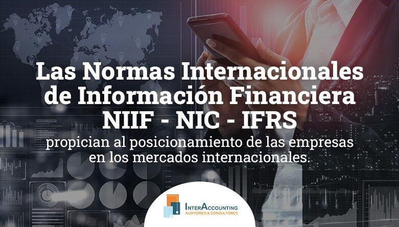Las Normas Internacionales de Información Financiera